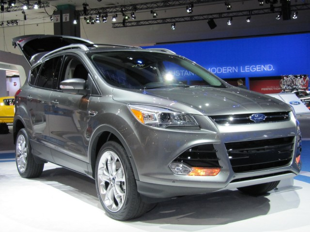 2013 ford escape launched at the los angeles auto show nov 2011. Cars Review. Best American Auto & Cars Review