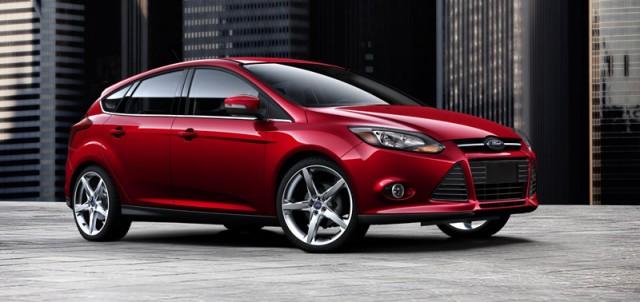 2012-2013 Ford Focus Front & Center In NHTSA Door-Latch Probe