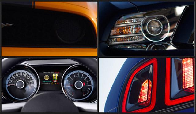 2013 Ford Mustang teaser