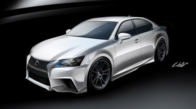 2013 Lexus GS 350 F Sport by Five Axis