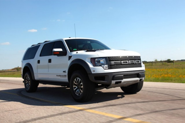 2013 Hennessey VelociRaptor SUV based on the Ford F-150 SVT Raptor