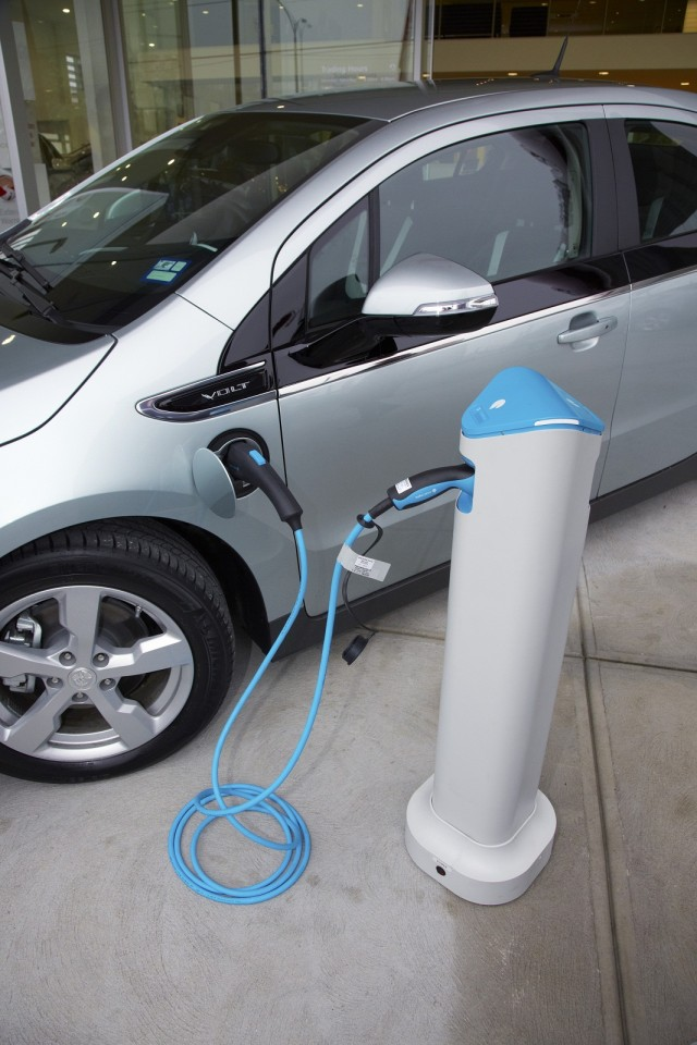 2013 Holden Volt with Better Place Charge Spot, Australia