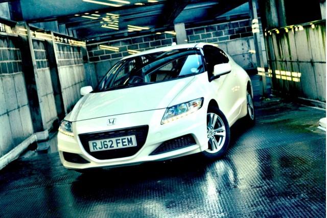2013 Honda CR-Z hybrid coupe [UK specification]