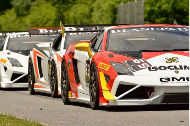 2013 Lamborghini Blancpain Super Trofeo North America season opener at Lime Rock