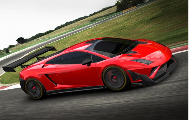 2013 Lamborghini Gallardo GT3 FL2 race car