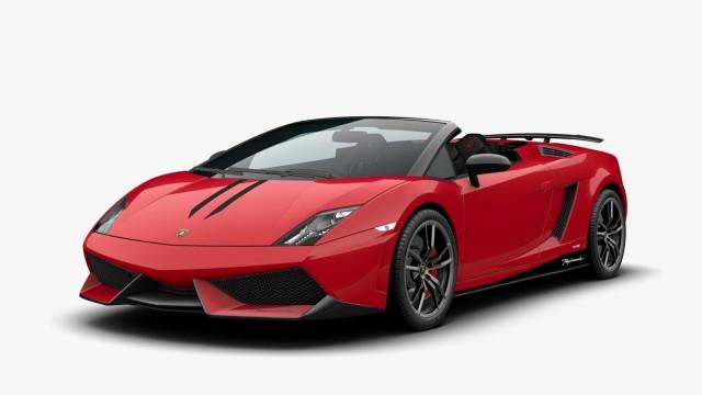 2013 Lamborghini Gallardo LP 570-4 Spyder Performante Edizione Tecnica
