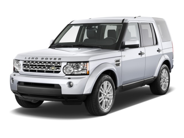 2013 Land Rover LR4 4WD 4-door Angular Front Exterior View