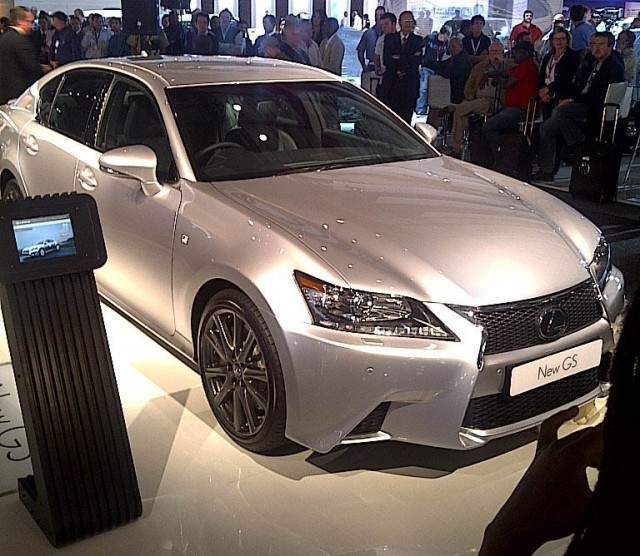 Lexus Sport: Lexus Unveils 2013 GS 350 F Sport In South Africa