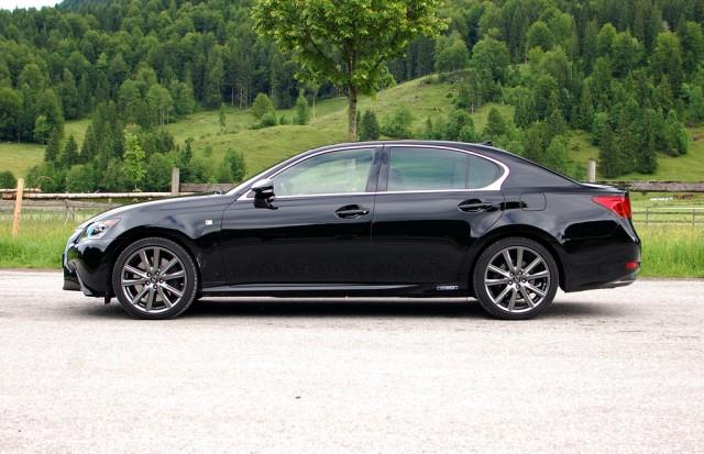 2013 Lexus GS 450h First Drive. [Photos: Antony Ingram]