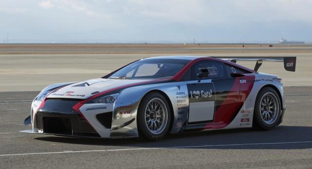 2013 Lexus LFA race car