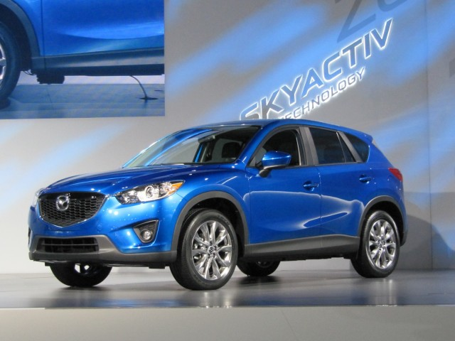 2013 Mazda CX-5 compact crossover revealed at Los Angeles Auto Show, Nov 2011