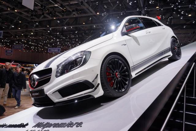 2013 Mercedes-Benz A45 AMG, 2013 Geneva Motor Show