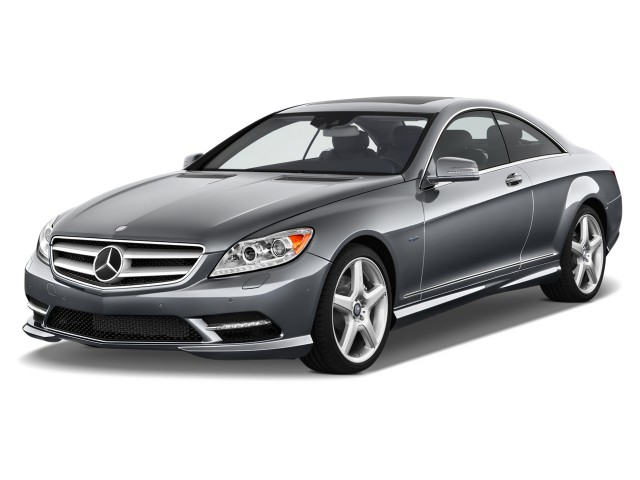 2013 Mercedes-Benz CL Class 2-door Coupe CL550 4MATIC Angular Front Exterior View