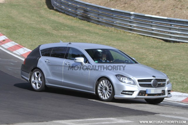2013 Mercedes-Benz CLS Shooting Brake spy shots