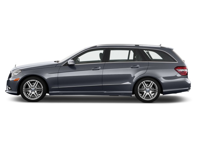 2013 Mercedes-Benz E Class 4-door Wagon E350 Luxury 4MATIC Side Exterior View