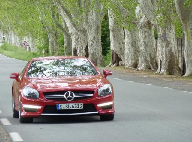 2013 Mercedes-Benz SL63 AMG  -  First Drive  -  April 2012, St. Tropez France