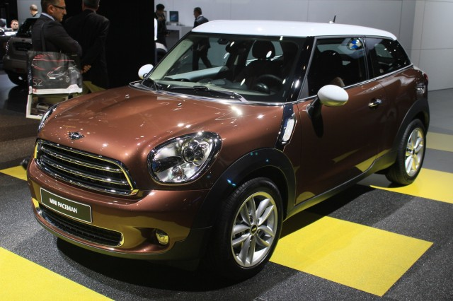 2013 MINI Paceman, 2012 Paris Auto Show