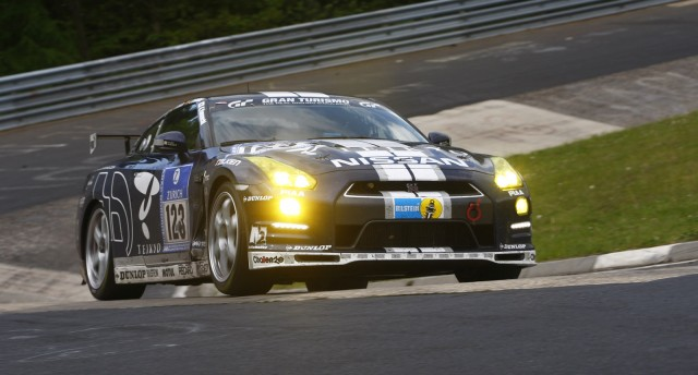 2013 Nissan GT-R (Club Track Edition) in the Nürburgring 24 Hours