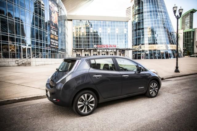 2013 Nissan Leaf at Nissan U.S. Headquarters, Franklin, Tennessee