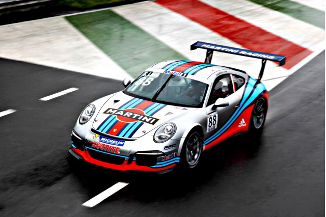 2013 Porsche 911 GT3 Cup with Martini livery