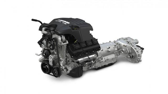 2013 Ram 1500 - Hemi, eight-speed automatic