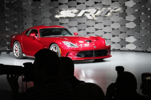 2013 SRT Viper, 2012 New York Auto Show