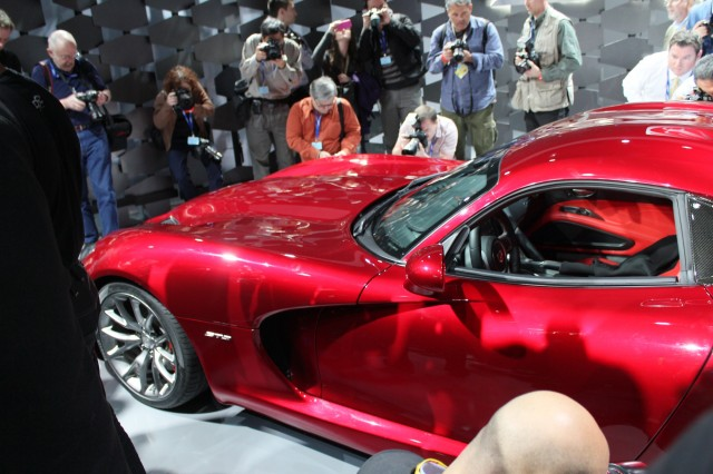 2013 SRT Viper, 2012 New York Auto Show