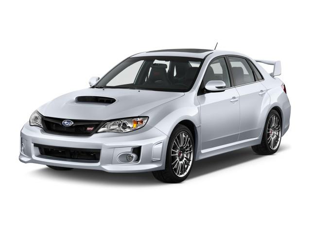 2013 Subaru Impreza WRX - STI 4-door Man WRX STI Angular Front Exterior View