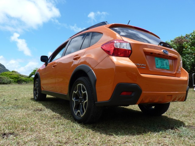 2013 Subaru XV Crosstrek  -  First Drive, Oahu, July 2012