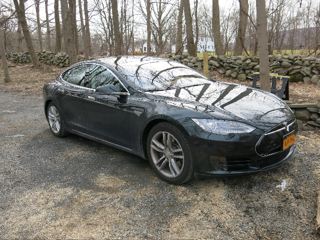 2013 Tesla Model S electric sport sedan [photo by owner David Noland]