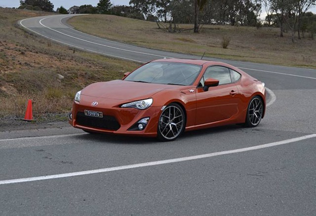 2013 Toyota GT 86 with handling upgrades - Image: Carsguide
