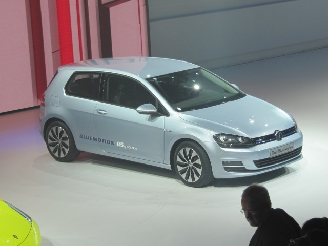 2013 Volkswagen Golf BlueMotion (European model), 2012 Paris Motor Show