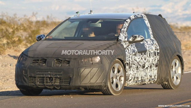 2014 Volkswagen Golf GTI spy shots