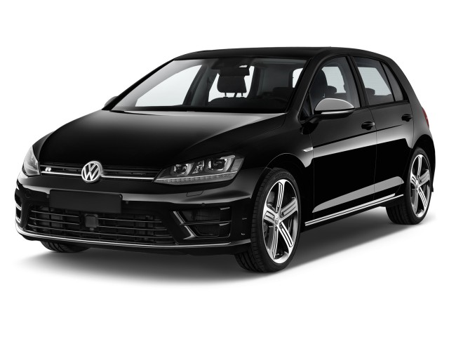 2013 Volkswagen Golf R 4-door HB Angular Front Exterior View