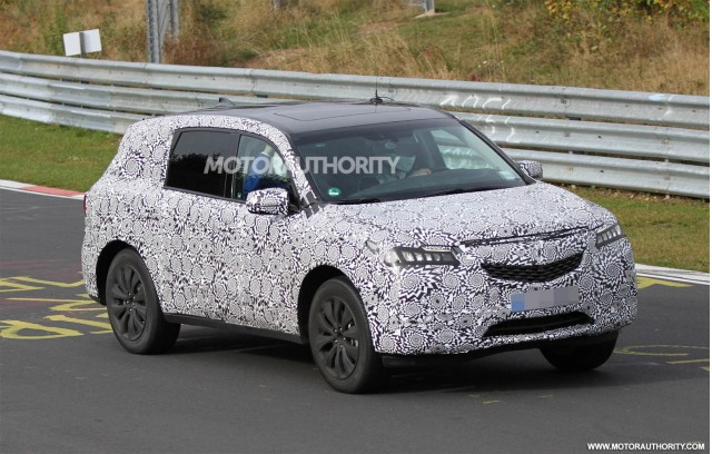 2014 Acura MDX spy shots