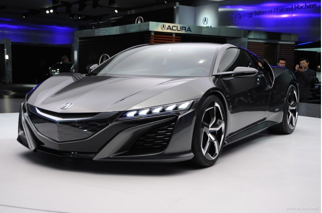 January 15, 2013 - Detroit, MI. 2014 Acura NSX Concept at the 2013 Detroit Auto Show. Photo by Joe Nuxoll.