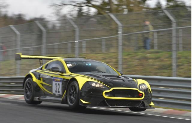 2014 Aston Martin V12 Vantage GT3 race car