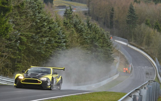 2014 Aston Martin V12 Vantage GT3 race car