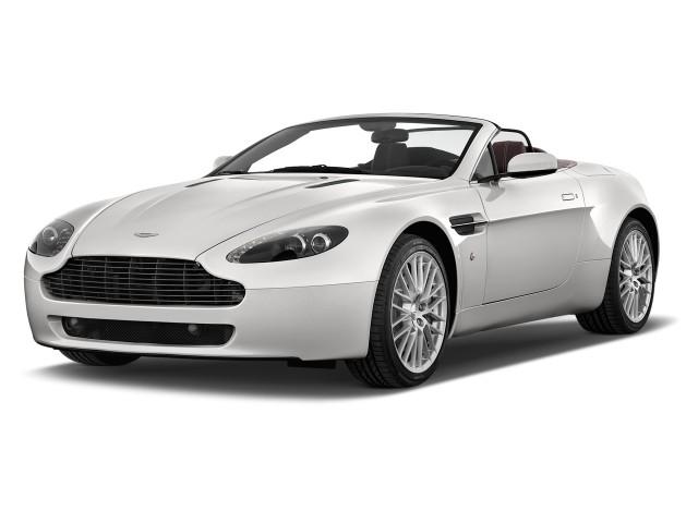 2014 Aston Martin V8 Vantage 2-door Convertible Angular Front Exterior View
