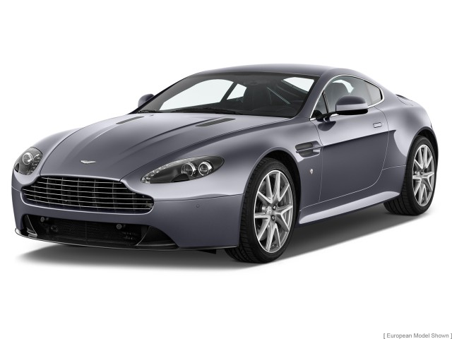 2014 Aston Martin V8 Vantage 2-door Coupe S Angular Front Exterior View