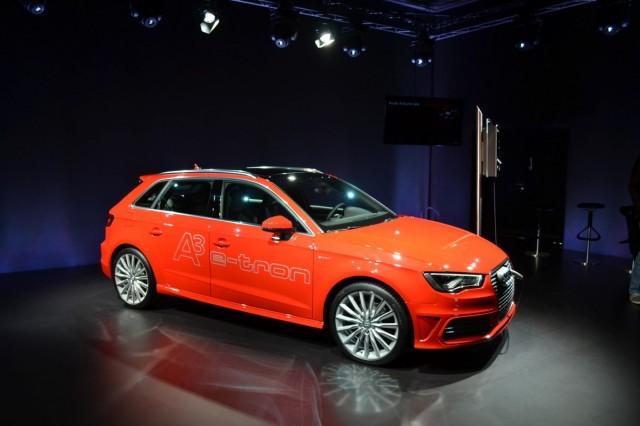 2014 Audi A3 e-tron plug-in hybrid presentation, Berlin