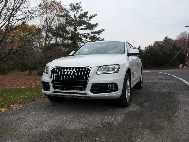 2014 Audi Q5 TDI, Catskill Mountains, Oct 2013