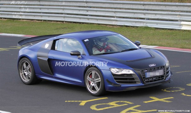 2014 Audi R8 GT Sport spy shots