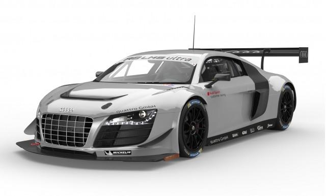 2014 Audi R8 LMS ultra race car
