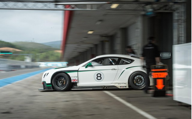 2014 Bentley Continental GT3 race car