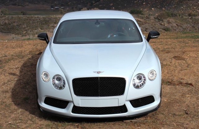 2014 Bentley Continental GT V8 S - First Drive, California, February 2014