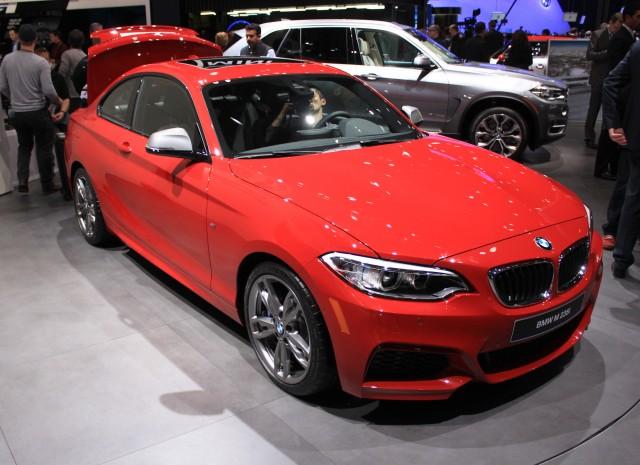 2014 BMW M235i live photos, 2014 Detroit Auto Show