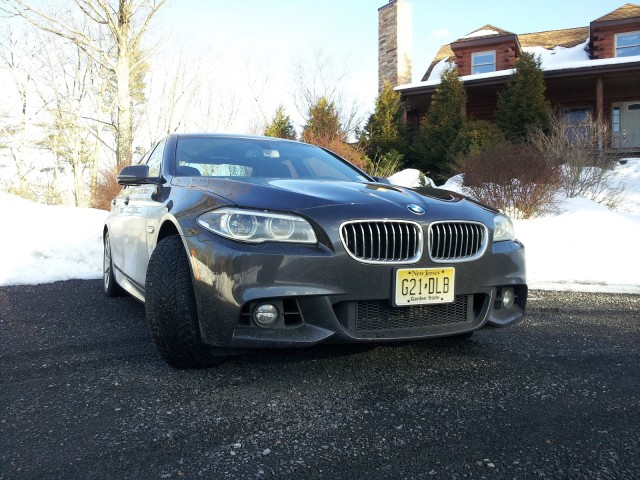2014 BMW 535d xDrive, Catskill Mountains, Feb 2014