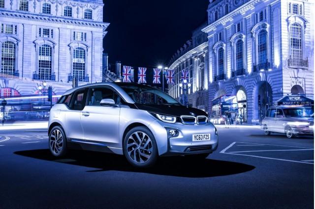 2014 BMW i3 in London