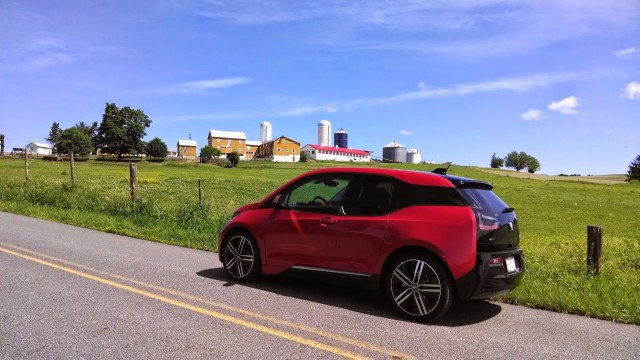 2014 BMW i3 REx owned by Tom Moloughney